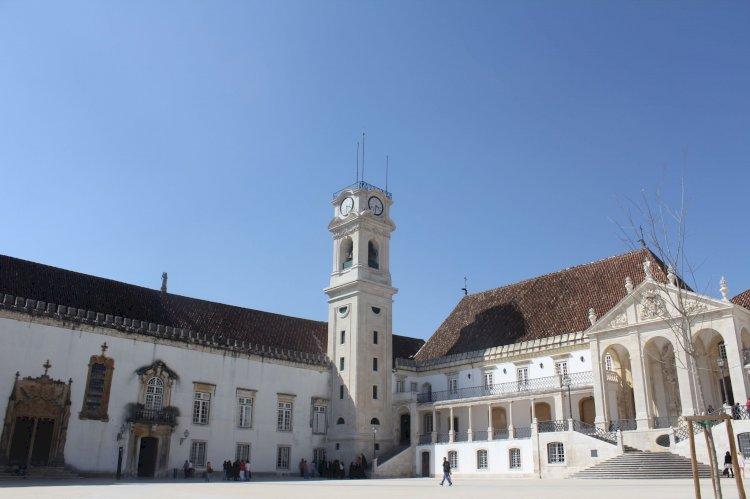 A histórica cidade de Coimbra