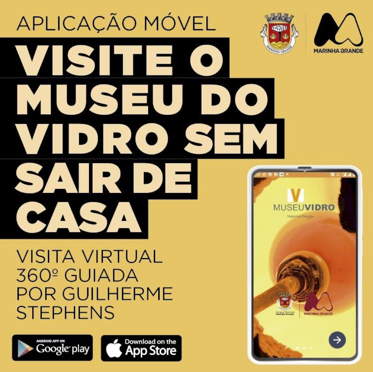 Aplicação móvel do Museu do Vidro permite visitas virtuais de 360º