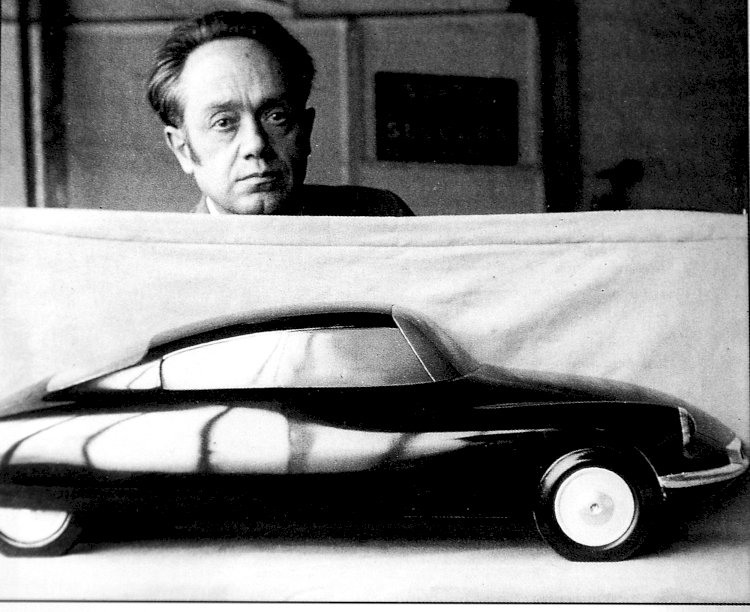 Flaminio Bertoni, o escultor de mitos automóveis