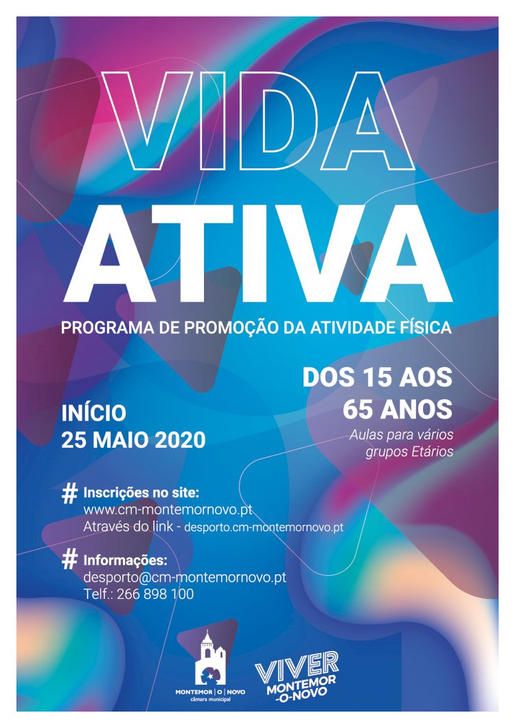 "Montemor-o-Novo promove o programa ""Vida Activa"""
