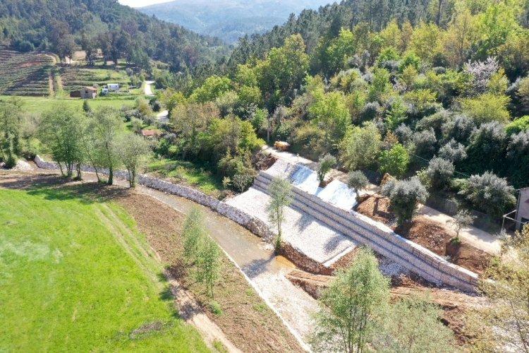 Arganil concluiu intervenções nas linhas de água do Rio Alva