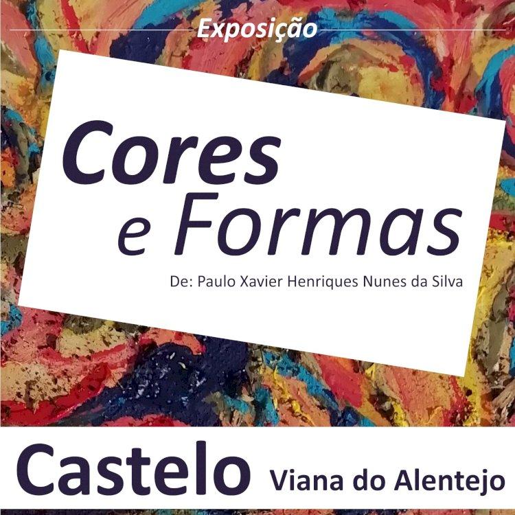 """""""Cores e Formas"""" em exposição no Castelo de Viana do Alentejo"""