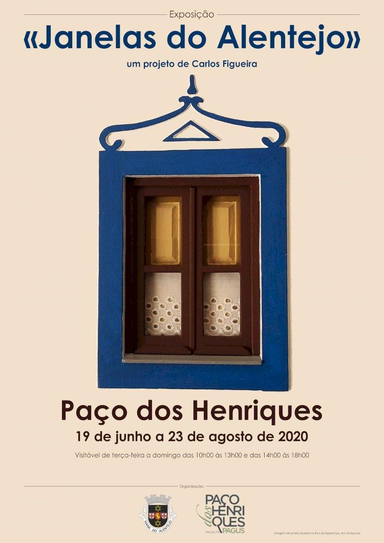 """Carlos Figueira expõe """"Janelas do Alentejo"""" em Alcáçovas"""