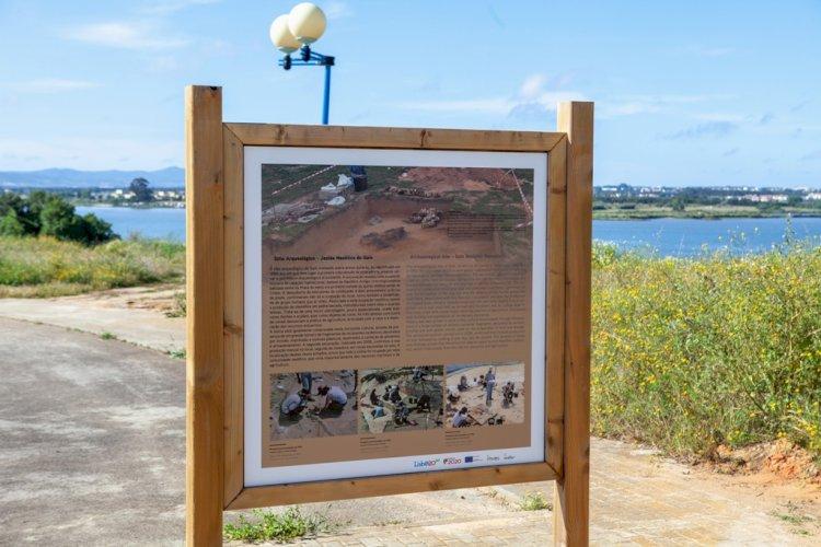 Pelos Trilhos de Portugal-Percurso dos Parques e Jardins, Moita
