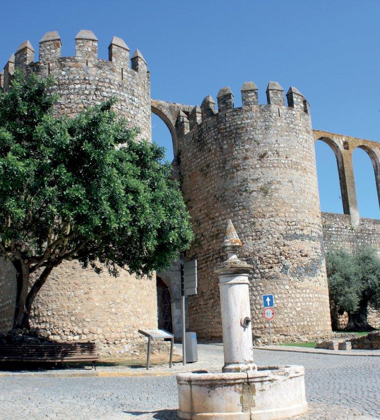 Pelos Trilhos de Portugal-Trilho da Azenha da Ordem, Serpa