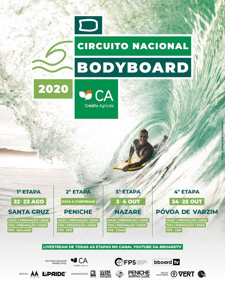 Circuito Nacional de Bodyboard volta em Agosto