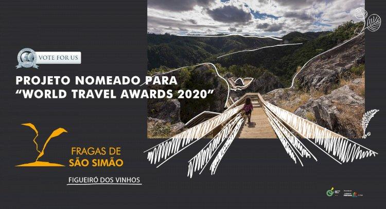 """""""Fragas de São Simão"""" nomeadas para os """"World Travel Awards 2020"""""""