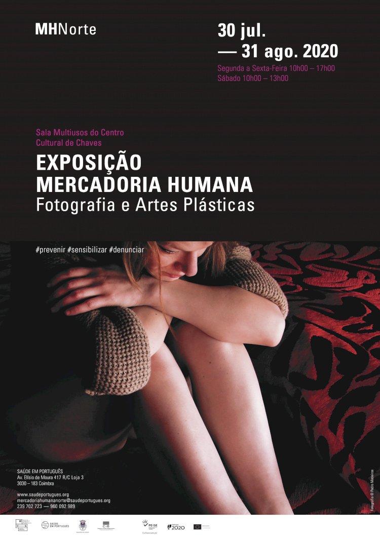 """Exposição """"Mercadoria Humana"""" retrata tráfico de Seres Humanos em Fotografia e Artes Plásticas"""