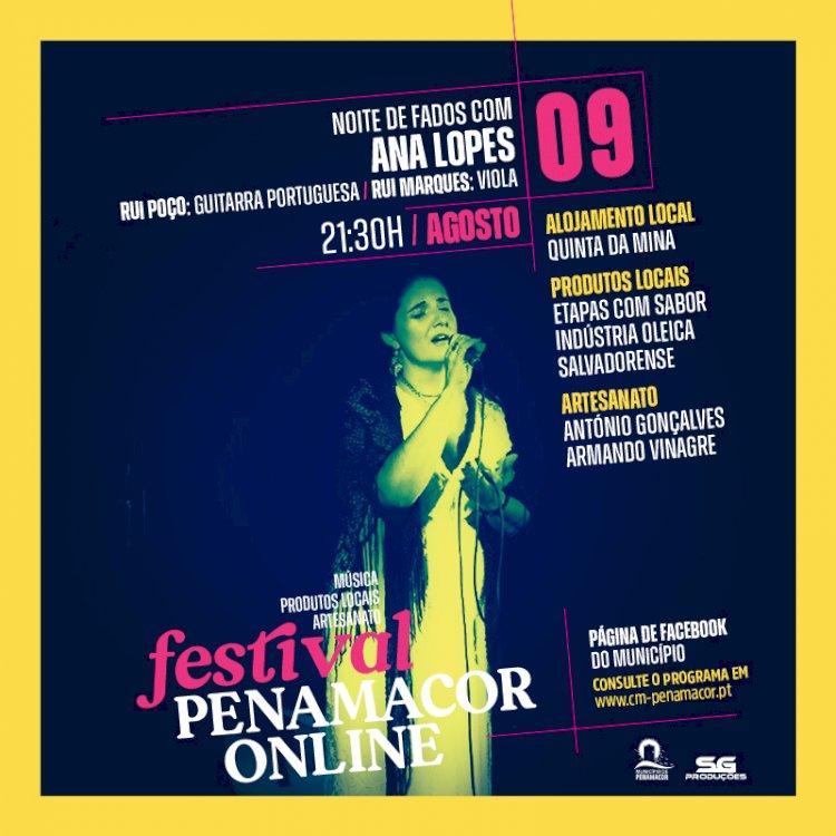Noite de Fados no Festival Penamacor Online