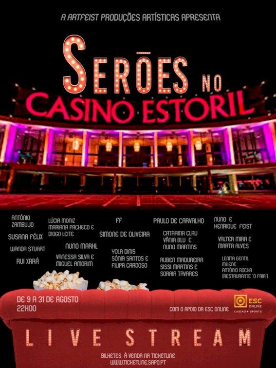 Casino Estoril reabre Auditório e Foyer panorâmico com stand-up comedy e concertos em live stream