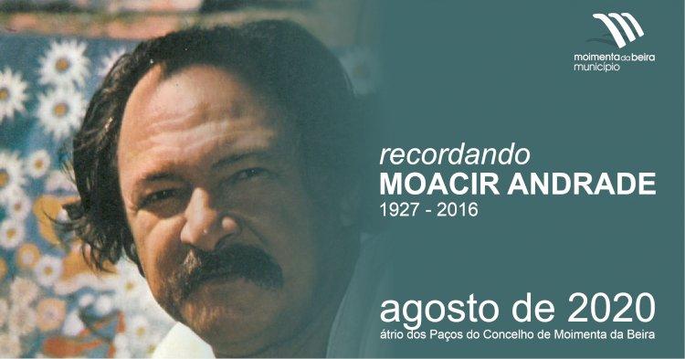 Moacir Andrade recordado em exposição no átrio dos Paços do Concelho de Moimenta da Beira