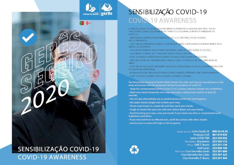 Projeto Gerês Seguro 2020 visa sensiblizar empresas e turistas