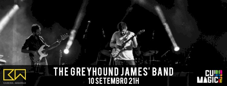 Cubo Mágico recebe The Greyhound James' Band