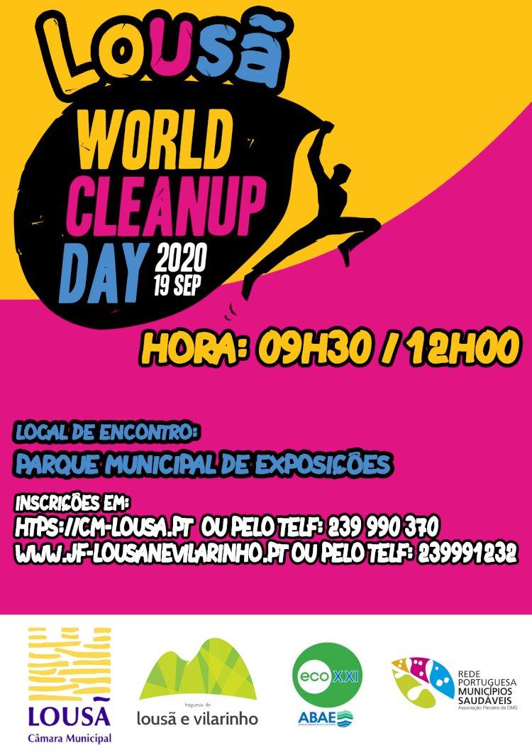 "Lousã celebra o ""World Cleanup Day"""