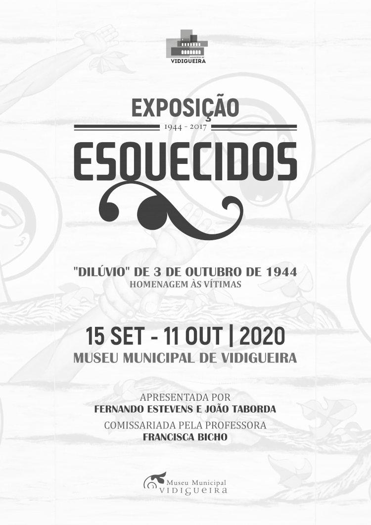 Exposição ESQUECIDOS homenageia as vítimas do dilúvio de 1944 na Vidigueira