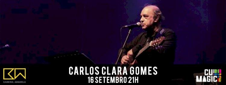 Quarteto de Carlos Clara Gomes ao vivo hoje no Cubo Mágico