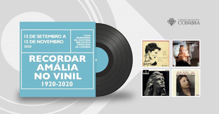 Coimbra recorda Amália no centenário do seu nascimento com mostra de capas de discos de vinil