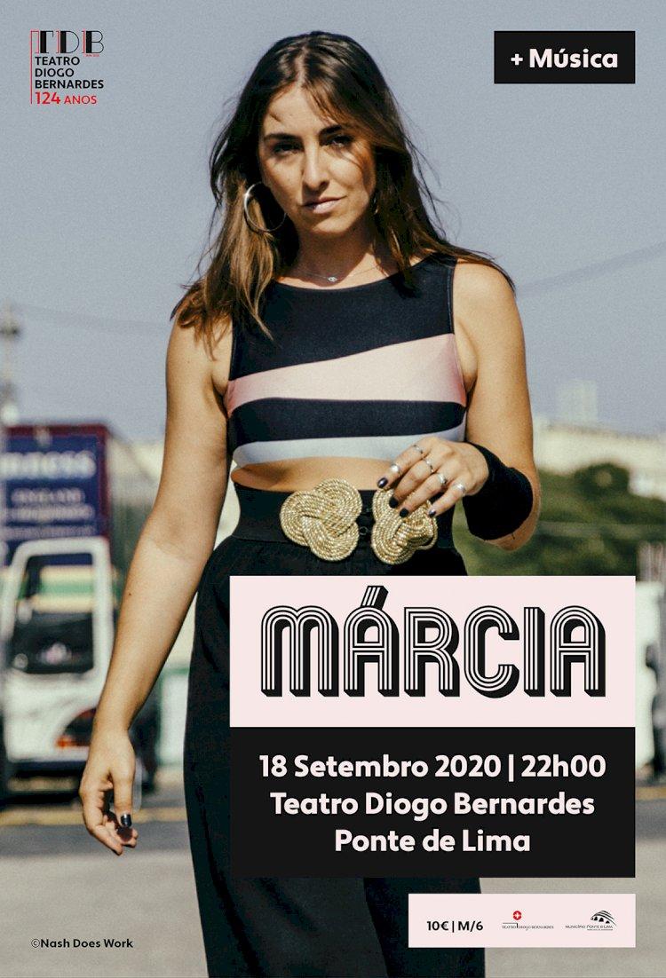 Márcia abre a temporada 2020-2021 do Teatro Diogo Bernardes, em Ponte de Lima