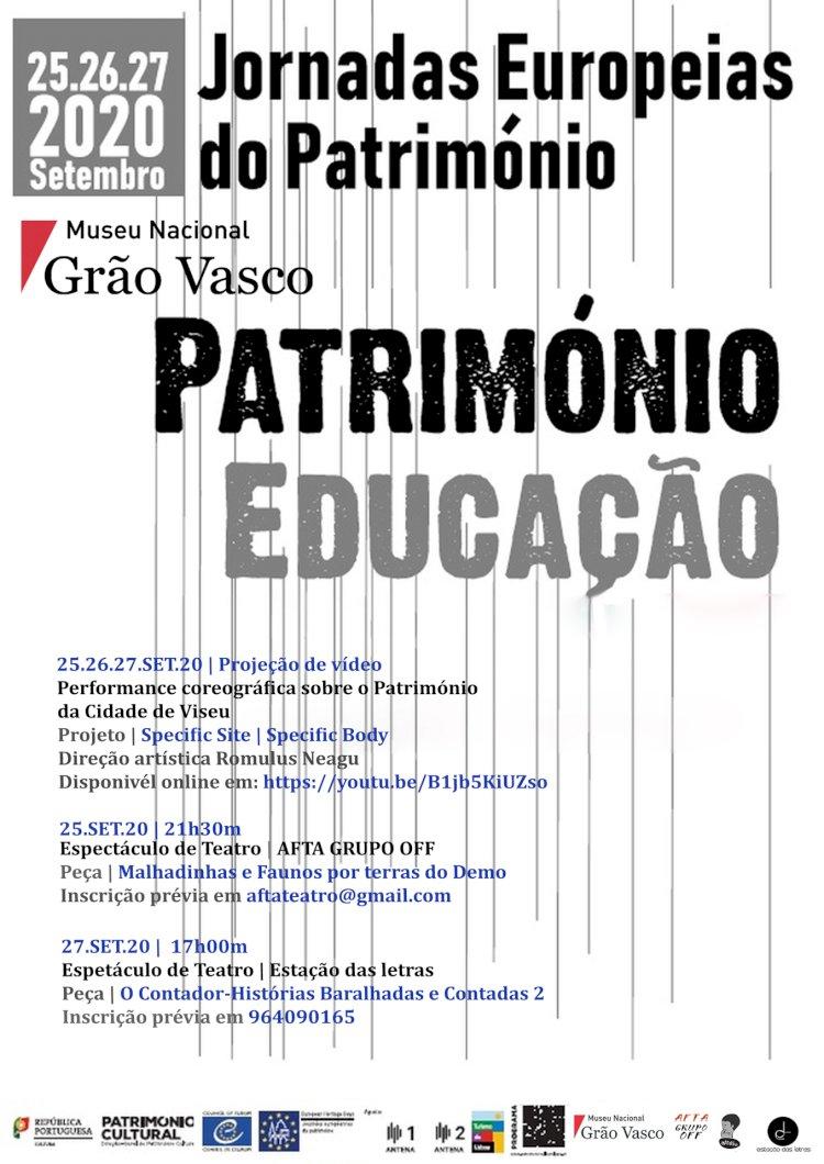 Museu Nacional Grão Vasco  adere às Jornadas Europeias do Património