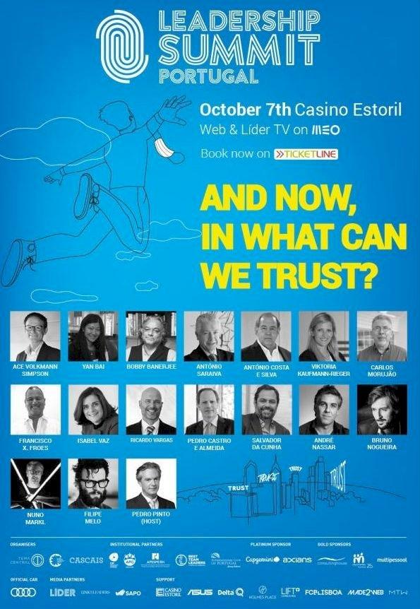 Casino Estoril recebe no dia 7 de Outubro a 4ª edição da Leadership Summit Portugal