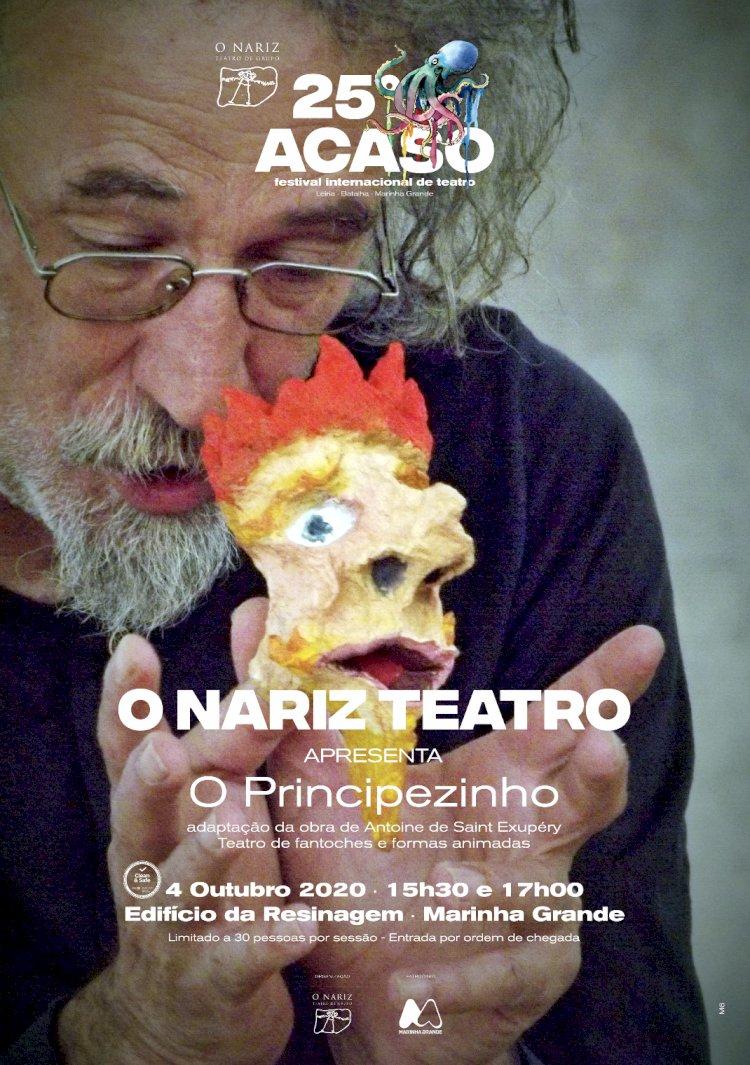"""Teatro """"O Principezinho"""" apresentado no Auditório da Resinagem"""