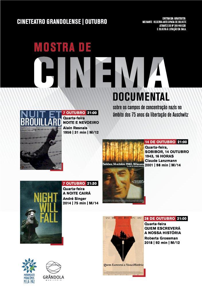 Grândola promove Mostra de Cinema Documental - 75 anos da libertação de Auschwitz