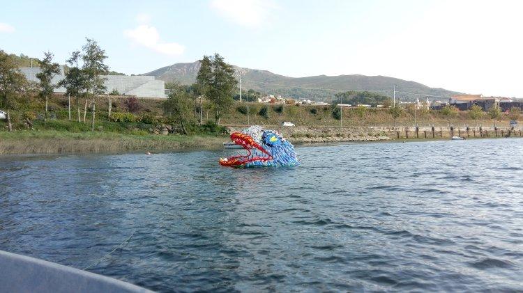 Projeto artístico de sensibilização ambiental de 430 m2 vai ser instalado no Rio Minho