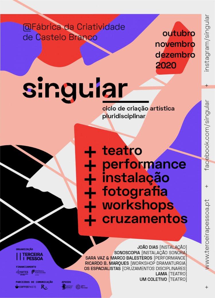 1ª edição do SINGULAR começa dia 19 de Outubro em Castelo Branco