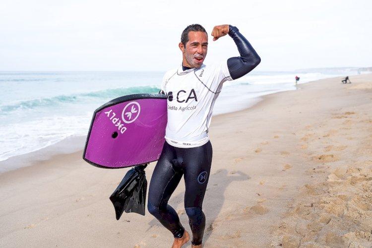Daniel Fonseca campeão nacional em Peniche , Teresa Almeida vence e pressiona Joana Schenker  - Circuito Nacional de Bodyboard Crédito Agrícola 2020