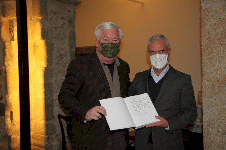 Presidente da Câmara Municipal da Sertã recebeu Embaixador  dos EUA
