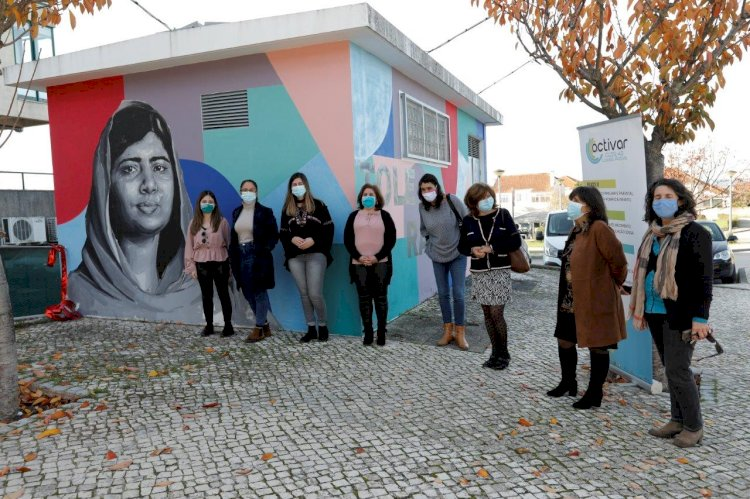Dia Internacional da Tolerância assinalado com mural na Lousã.