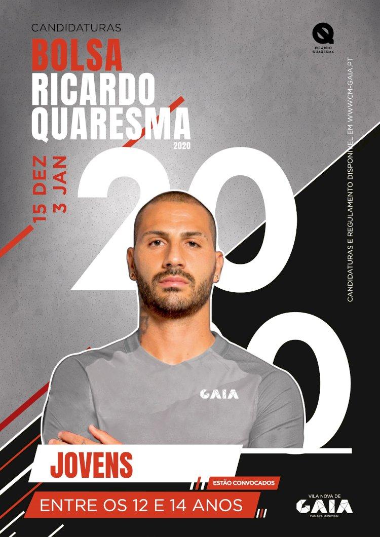 Bolsa Ricardo Quaresma está de volta