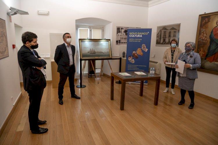 Museu Municipal de Olhão exibe duas obras de Thomas Buttersworth cedidas pelo Novo Banco