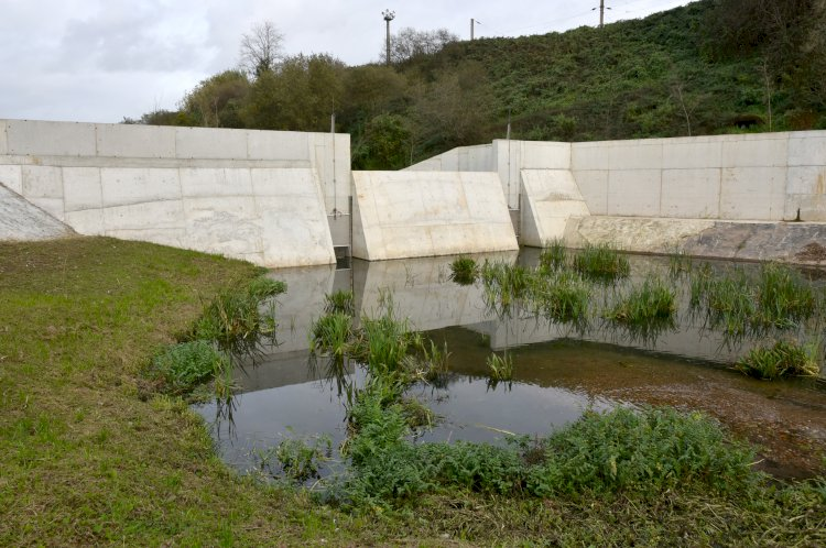 Bacia de retenção do rio Horto previne ocorrência de cheias