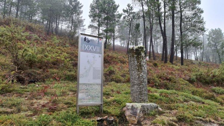 Município de Terras de Bouro renova os marcadores das Milhas da Geira - Via Romana