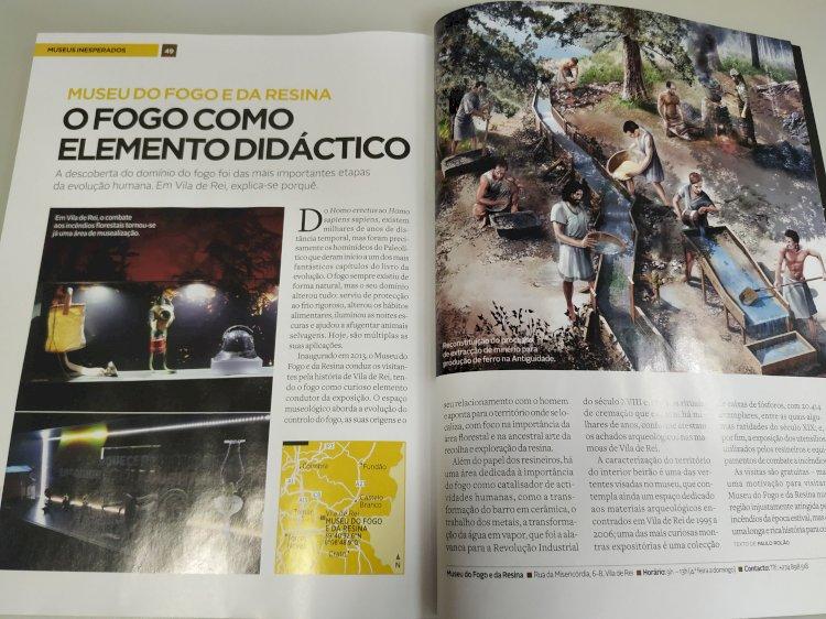 Museu do Fogo e da Resina em destaque na revista 'National Geographic'