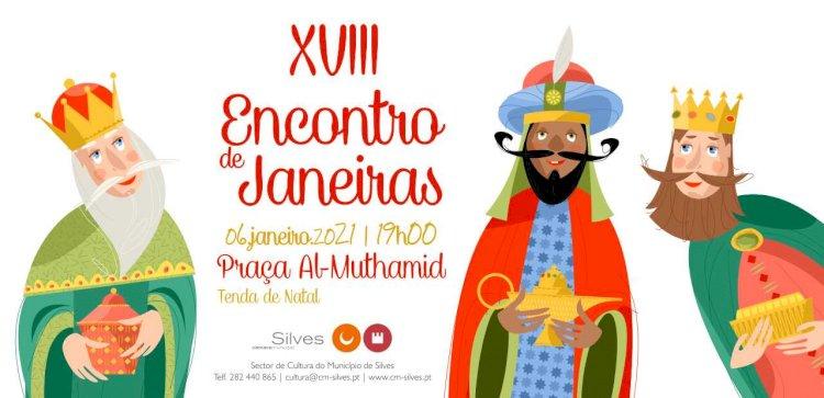 Praça Al-Muthamid é palco do XVIII Encontro de Janeiras de Silves