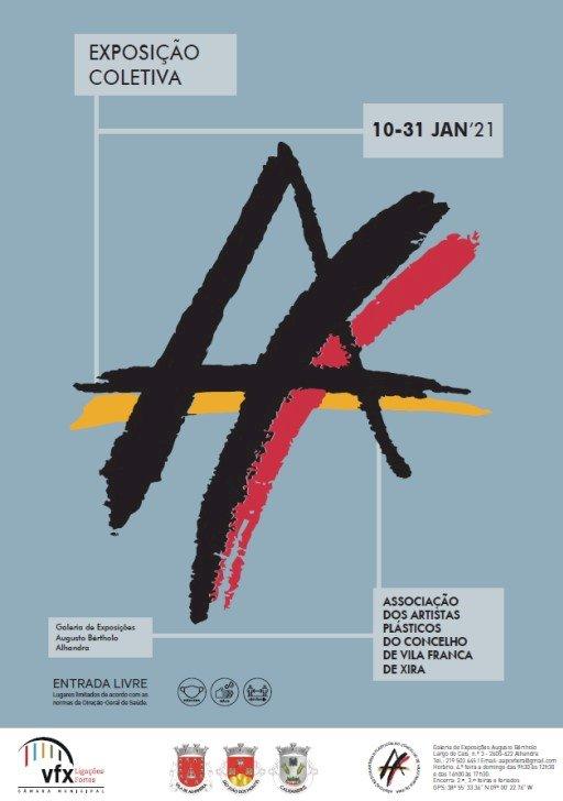 Exposição Coletiva da Associação de Artistas Plásticos do Concelho de Vila Franca de Xira abre ao público a 10 de Janeiro