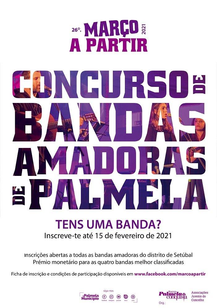 6.º Concurso de Bandas Amadoras de Palmela com  inscrições abertas até 15 de Fevereiro
