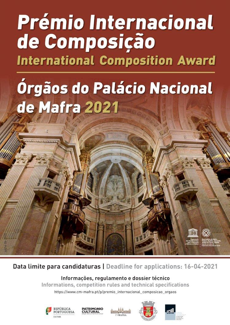 Prémio Internacional de Composição - Órgãos do Palácio Nacional de Mafra