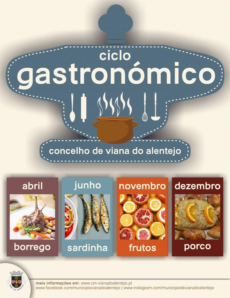 Viana do Alentejo promove ciclo gastronómico ao longo do ano