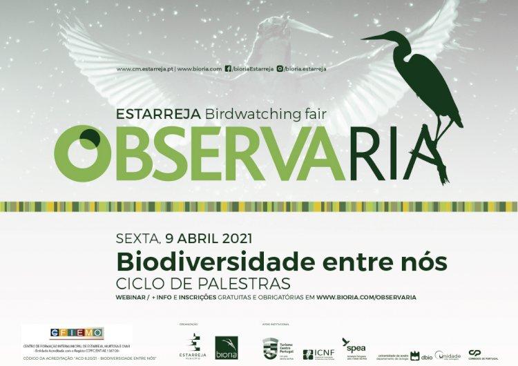 """ObservaRia'21 com Ciclo de Palestras """"Biodiversidade entre nós"""""""