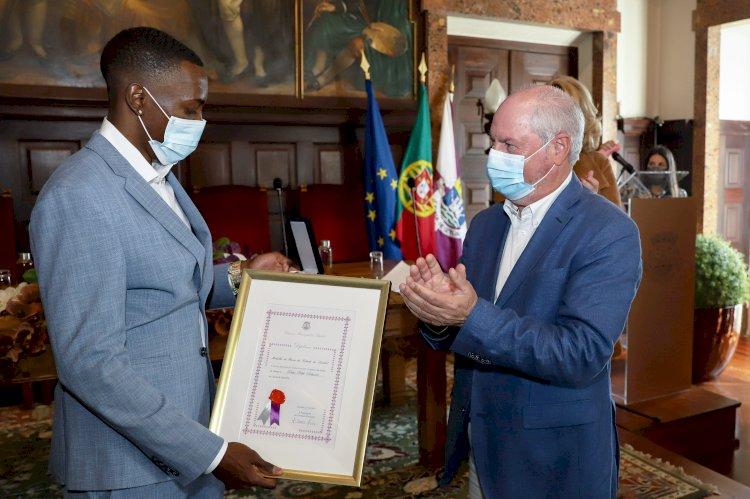 Pedro Pichardo recebe Medalha de Honra da Cidade  de Setúbal