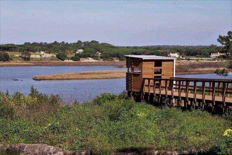 Município de Grândola abre um novo abrigo de Observação de Aves na Lagoa de Melides