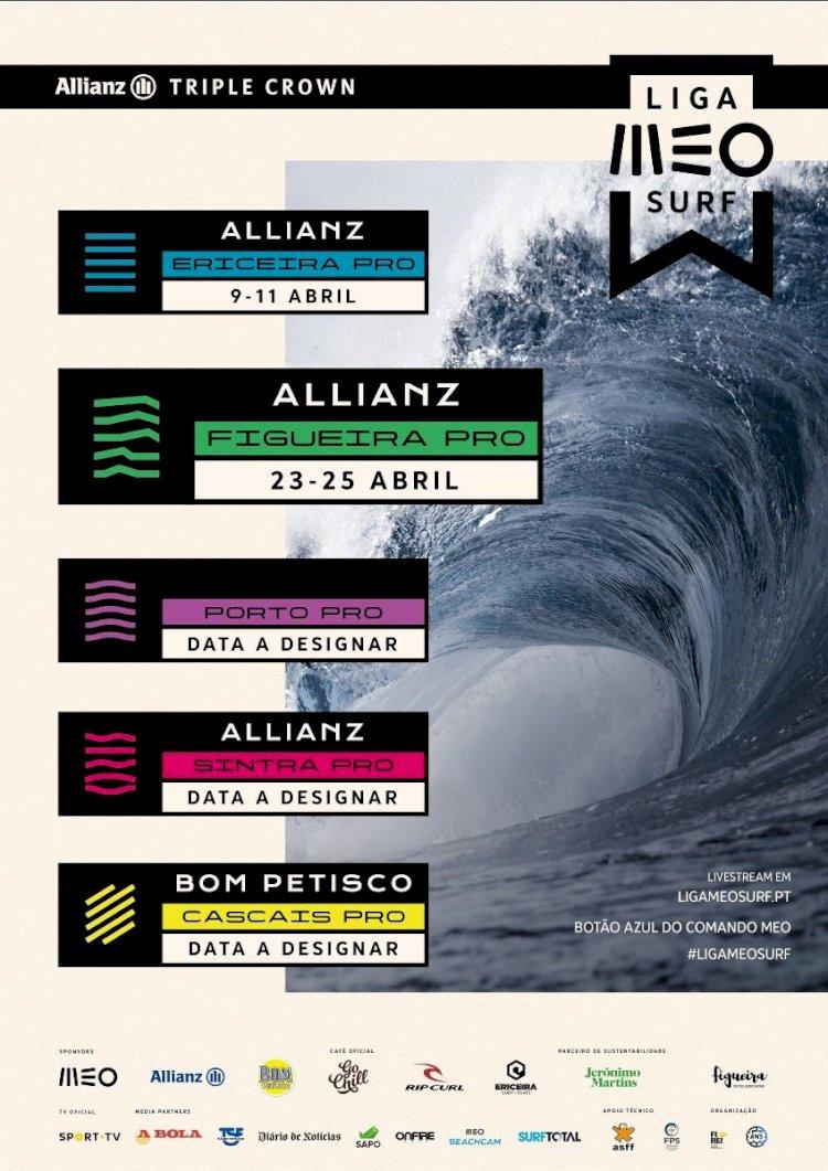 Liga MEO Surf: Estrelas do Surf nacional a caminho da Figueira da Foz