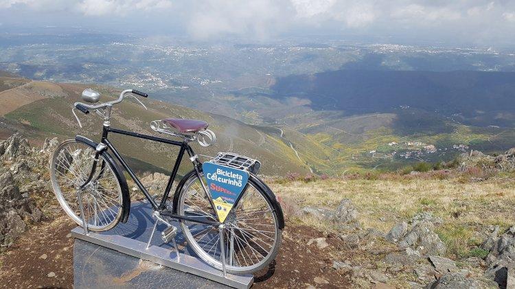 Bicicleta do Colcurinho para apreciar a paisagem