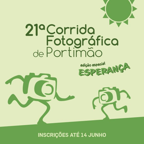 Esperança serve de mote para a 21ª Corrida Fotográfica de Portimão