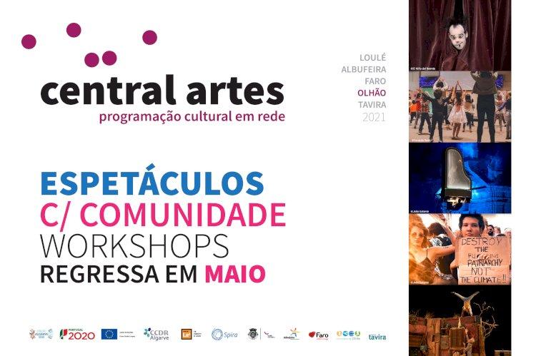 Central Artes de regresso a Olhão com espectáculo na comunidade