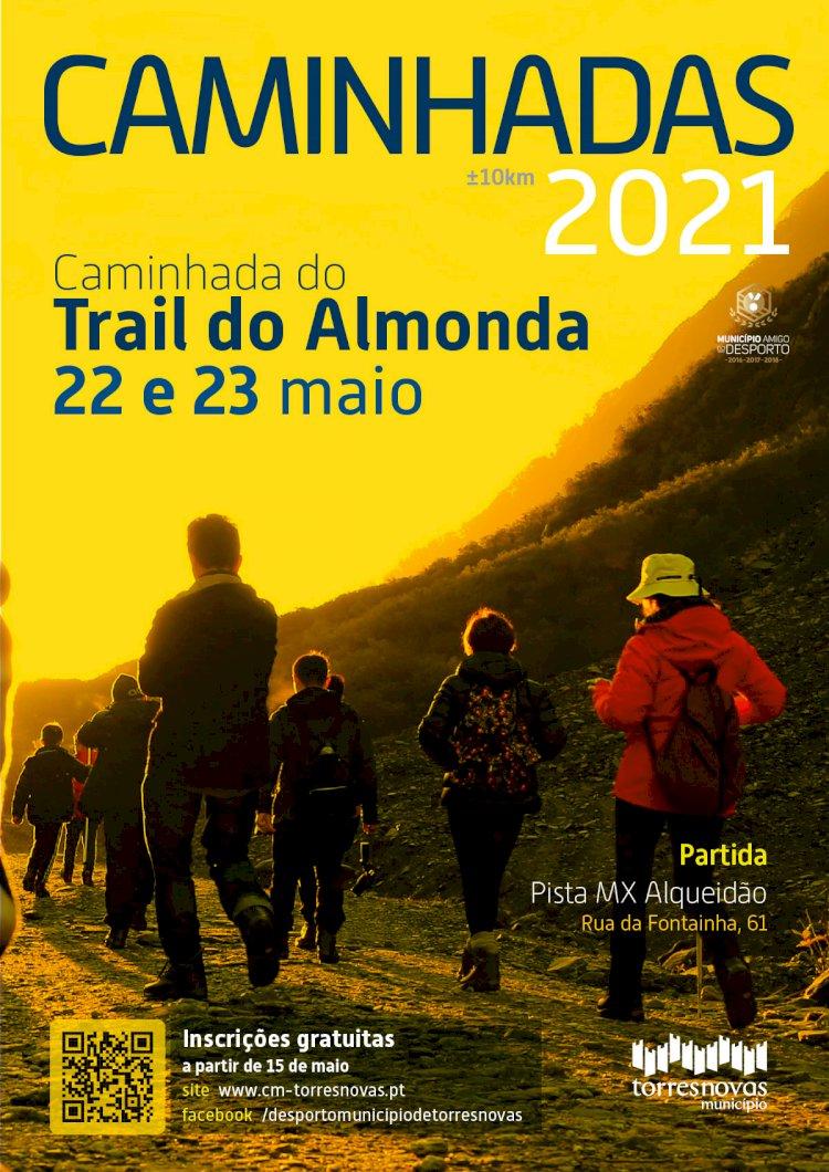 Caminhada do Trail do Almonda dias 22 e 23 de Maio