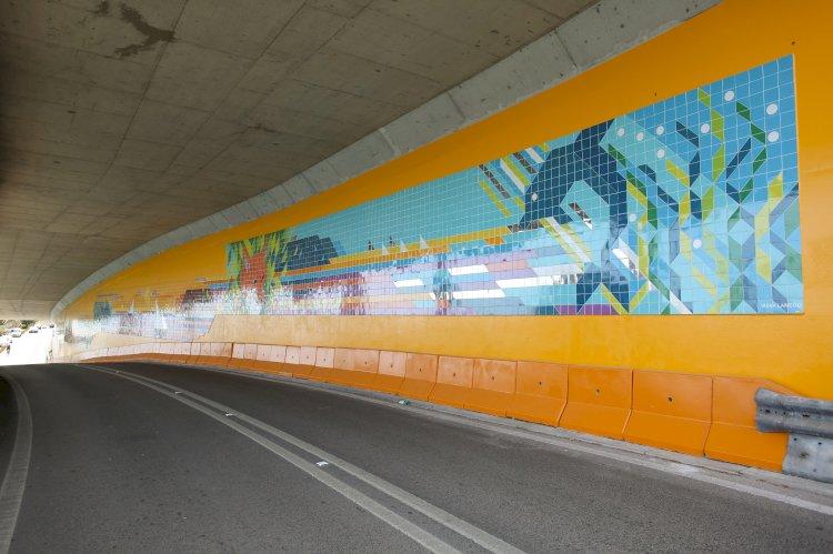 Painel de Azulejos dá cor a Setúbal